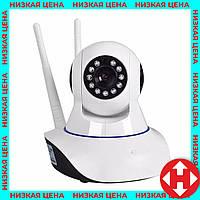 Ip камера видеонаблюдения для дома - вайфай поворотная ip камера беспроводная, фото 1