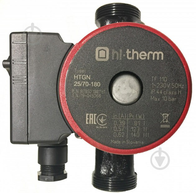 Циркуляционный насос Hi-Therm HTGN 25/70-180