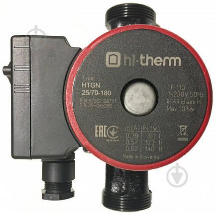 Циркуляционный насос Hi-Therm HTGN 25/70-180, фото 2