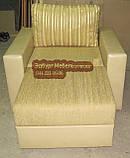 Кресло со спальным местом и приставным пуфом, фото 7