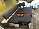 Диван для кухни Экстерн со спальным местом 1800х650х850мм, фото 7