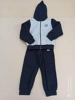 Спортивный костюм на мальчика на флисе, теплый размер 92, 110,116 (СКЛАД)