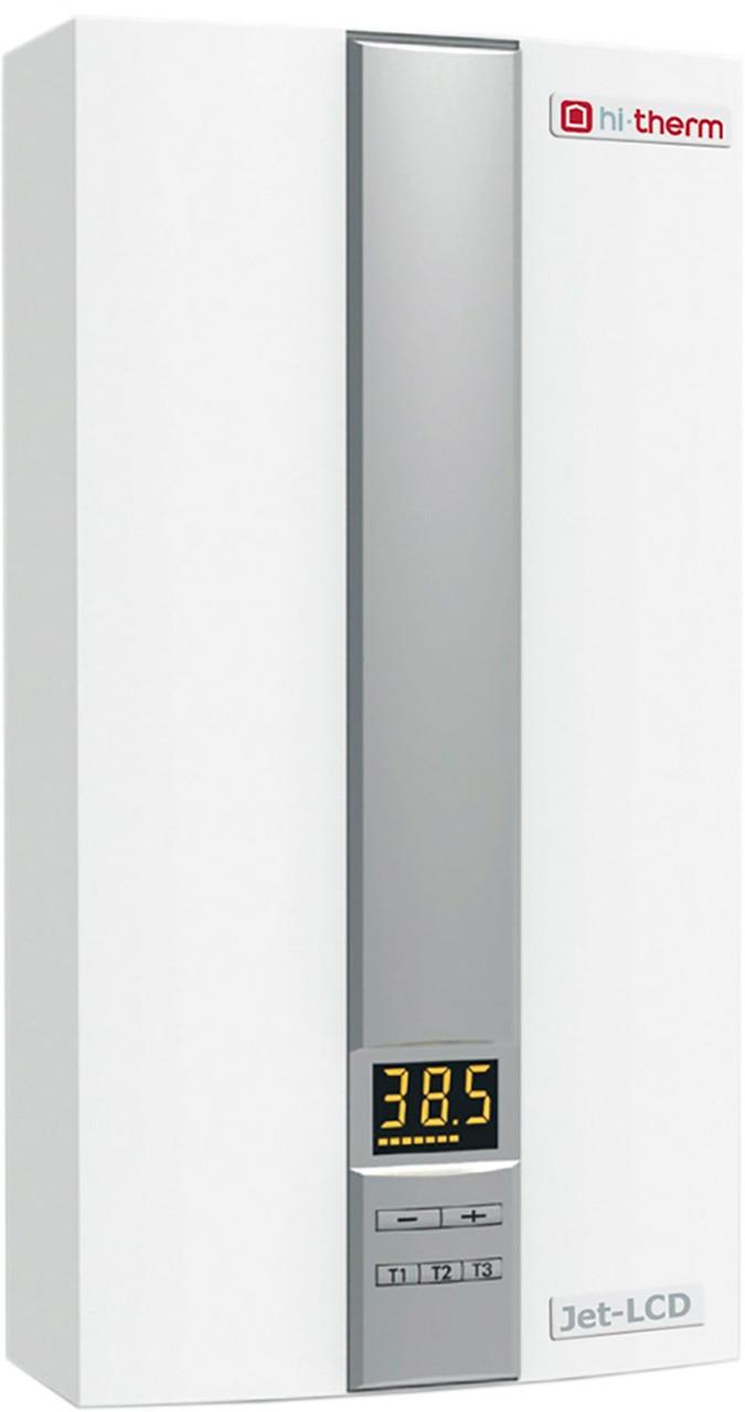Проточный водонагреватель hi-therm JET-LCD 18/21/24