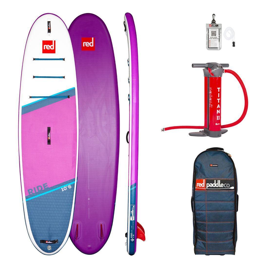 "Сапборд Red Paddle Co Ride SE 10'6"" x 32"" 2021 - надувна дошка для САП серфінгу, sup board"