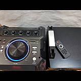 Комплект акустических систем для дискотеки Ailiang UF-1021A-DT комбо + пульт ДУ, Bluetooth, Диджей Микшер, фото 3