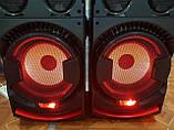 Комплект акустических систем для дискотеки Ailiang UF-1021A-DT комбо + пульт ДУ, Bluetooth, Диджей Микшер, фото 7