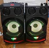 Комплект акустических систем для дискотеки Ailiang UF-1021A-DT комбо + пульт ДУ, Bluetooth, Диджей Микшер, фото 8