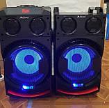 Комплект акустических систем для дискотеки Ailiang UF-1021A-DT комбо + пульт ДУ, Bluetooth, Диджей Микшер, фото 9