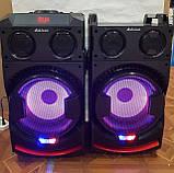 Комплект акустических систем для дискотеки Ailiang UF-1021A-DT комбо + пульт ДУ, Bluetooth, Диджей Микшер, фото 10