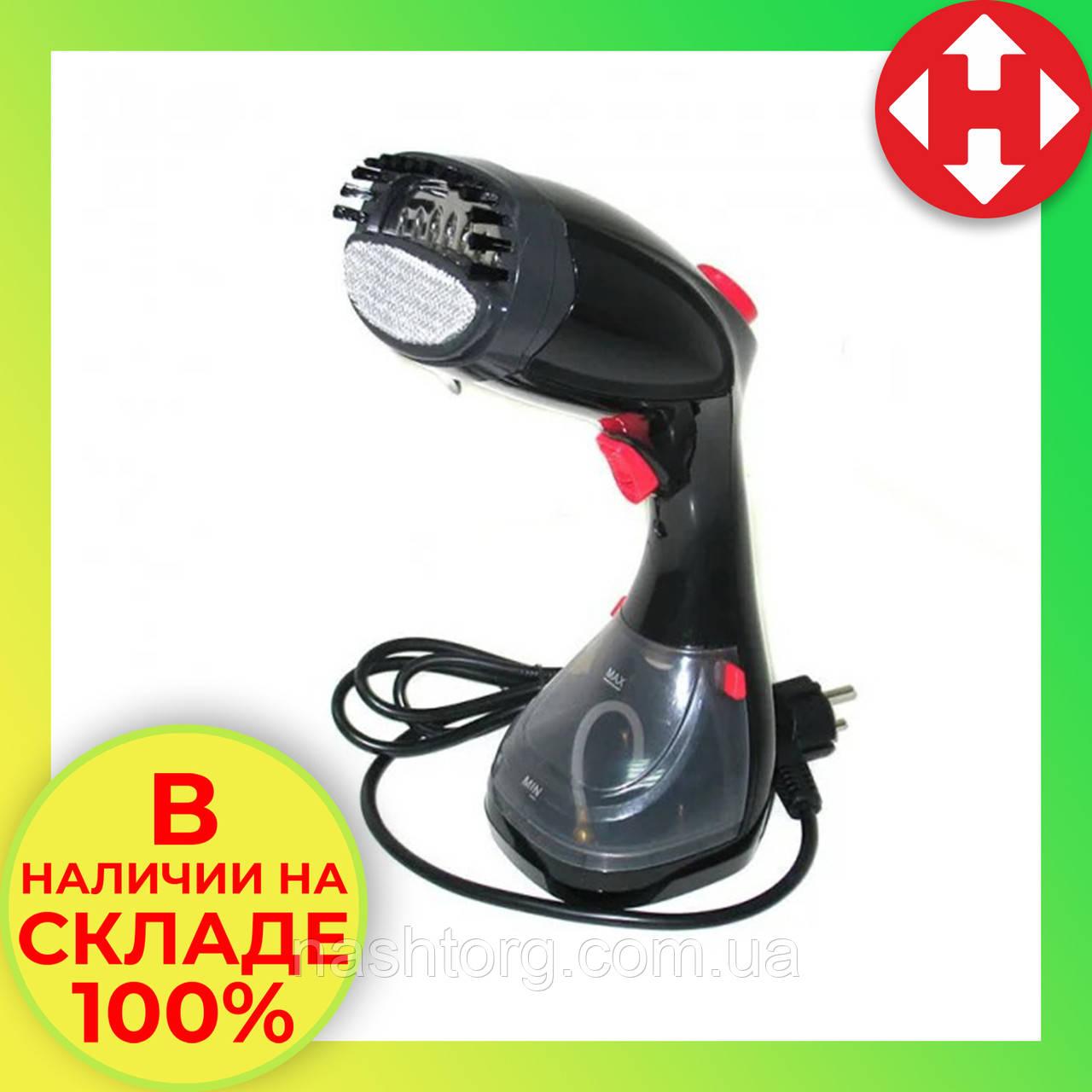 Отпариватель для одежды ручной, черный, Steam-up, DF-019, отпариватель для одежды, вертикальный отпариватель