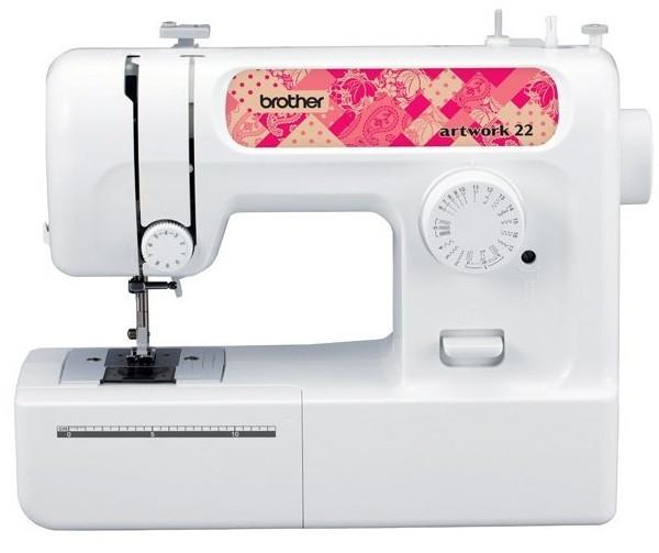 Швейная машина Brother Artwork 22N, 51 Вт, 17 швейных операций