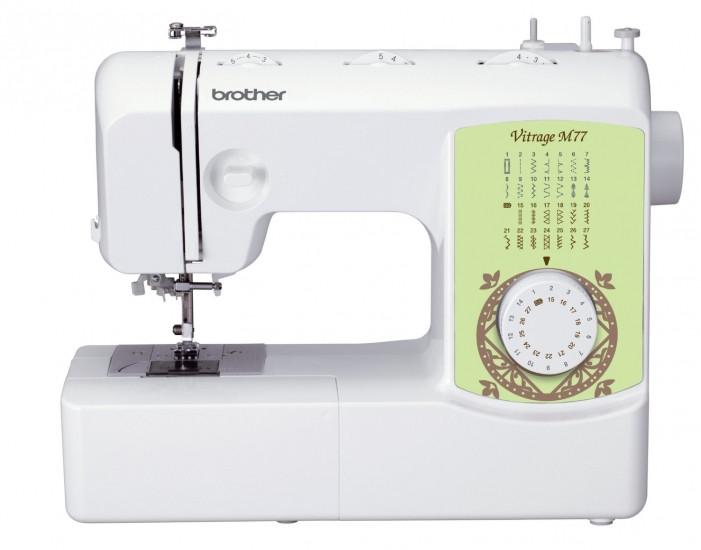 Швейная машина Brother Vitrage M77, электромех., 51 Вт, 27 швейных операций