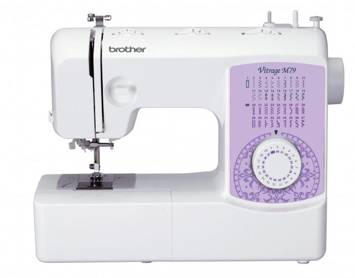 Швейная машина Brother Vitrage M79, 51 Вт, 37 швейных операций