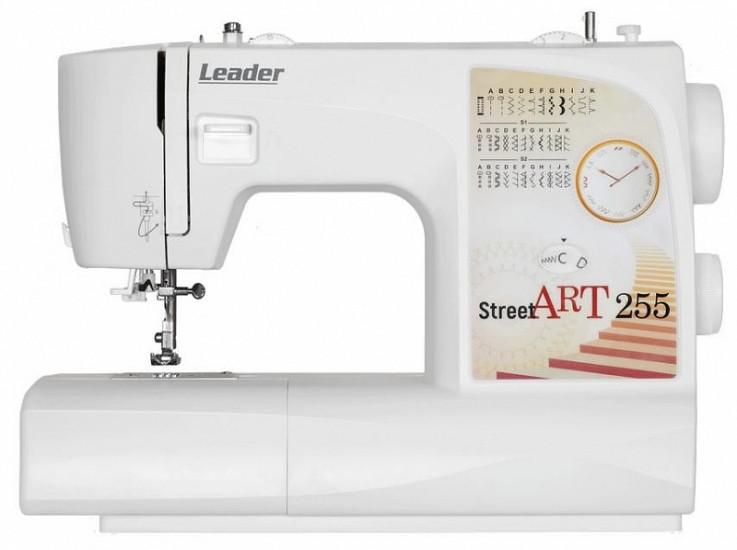Швейная машина Leader STREET ART255, электромех., 29 швейных операций