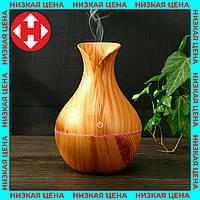Ультразвуковой увлажнитель воздуха настольный USB Aroma Humidifier KJR-036 (Светлое Дерево), фото 1