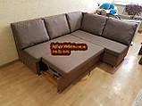 Кухонный диван «Прометей» с большими удобными подушками  1500х1800мм, фото 2