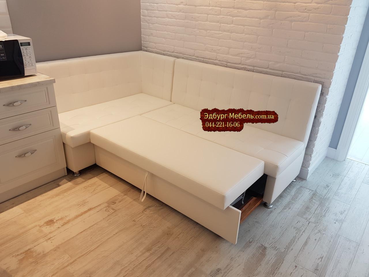 Кухонный уголок со спальным местом и прошивкой