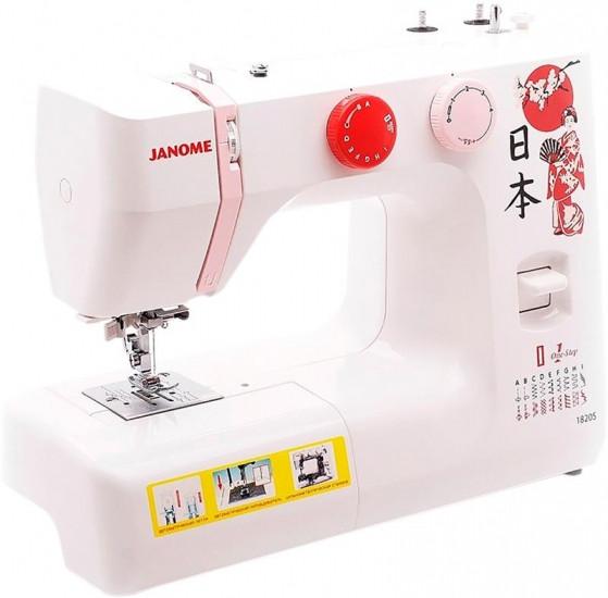 Швейная машина Janome 1820S, электромех., 60 Вт, 19 швейных операций