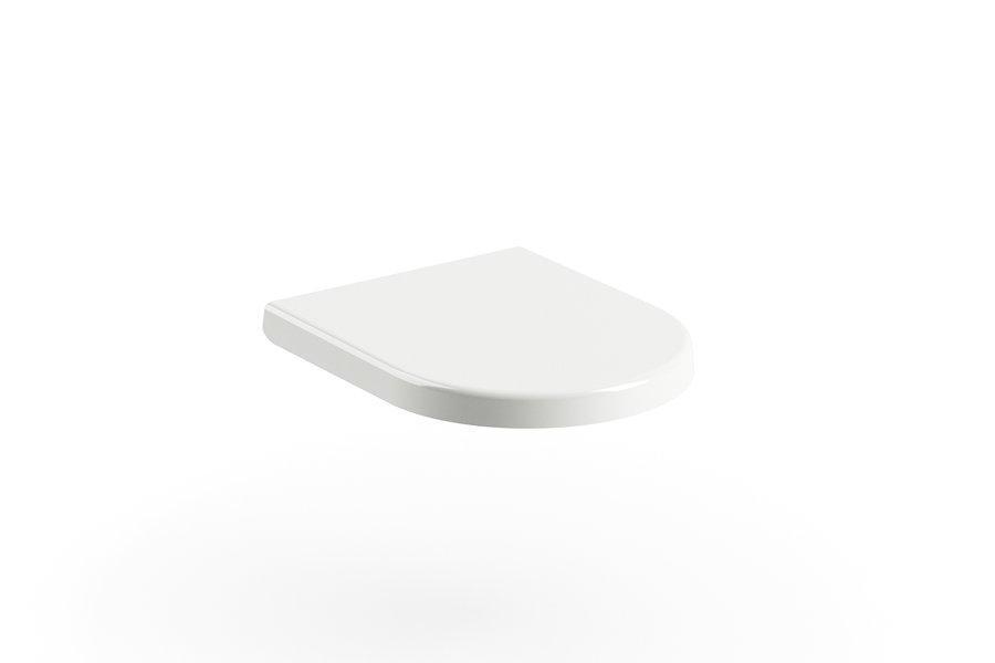 Сидение с крышкой Uni Chrome 02A white