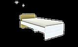 Кровать односпальная усиленная №2 , Детская мебель, фото 2