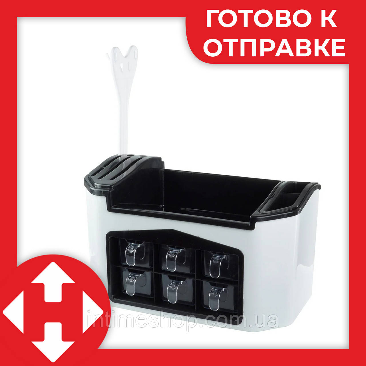 Подставка для специй и баночки емкости набор для специй (набір для спецій спецовники) Киев Украина