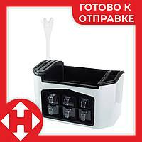 Подставка для специй и баночки емкости набор для специй (набір для спецій спецовники) Киев Украина, фото 1