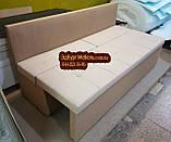 Диван для узкой кухни, узкого  коридора с ящиком и спальным местом 1800х500х800мм, фото 2