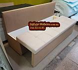 Диван для узкой кухни, узкого  коридора с ящиком и спальным местом 1800х500х800мм, фото 3