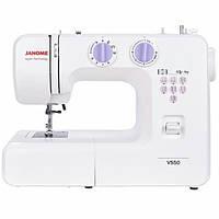 Швейная машина Janome VS50, электромех., 15 швейных операций, белый, фото 1
