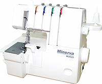 Оверлок Minerva M2020, 105 Вт, белый