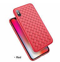 Силиконовый чехол XD Case Bottega Veneta для iPhone X, Xs Red