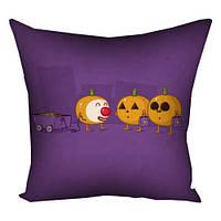 Подушка на Halloween Конфеты или жизнь 30х30 см (3P_HAL008)