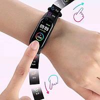 Спортивные умные смарт-часы браслет реплика Band M5, Фитнес-трекер Smart Watch, Шагомер, Давление, Пульс