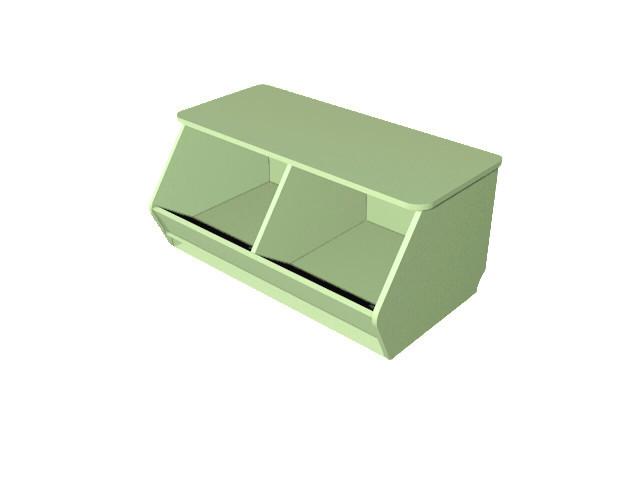 Ящик для игрушек. Мебель для школы. Мебель для детского сада