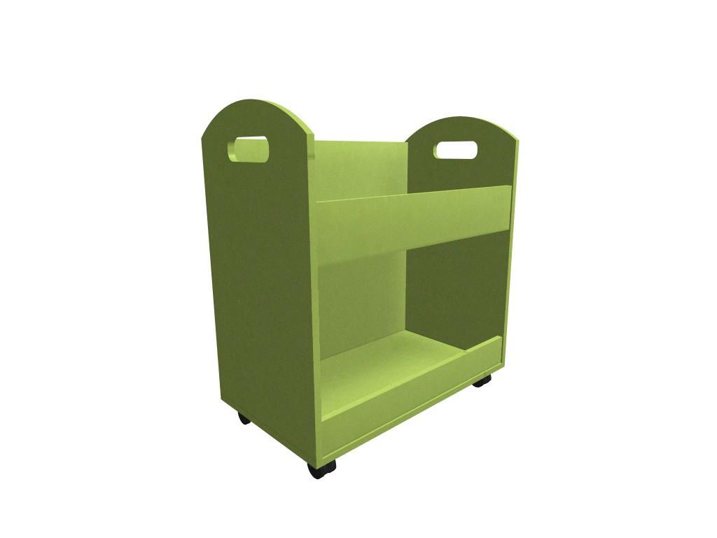 Ящик на колёсах. Мебель для школы. Мебель для детского сада
