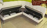 Кухонный уголок Престиж 1200*1600 кожзам легкая чистка, фото 4