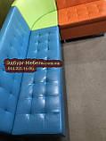 Угловой диван для детского сада Квадро 3 части 200х150см, фото 5