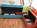 Угловой диван для детского сада Квадро 3 части 200х150см, фото 6