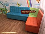 Угловой диван для детского сада Квадро 3 части 200х150см, фото 8