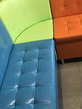Угловой диван для детского сада Квадро 3 части 200х150см, фото 9