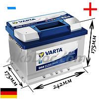 Varta 60Aч 540A Blue Dynamic D59 / 560 409 054 (-/+)
