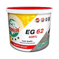 Грунт - краска адгезионная эмульсия акриловая Anserglob EG 62 Quartz grunt 5л