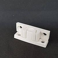 Фиксатор ТЕРМОПЛАСТ для дверной москитной сетки из профиля 10*20 мм (белый)