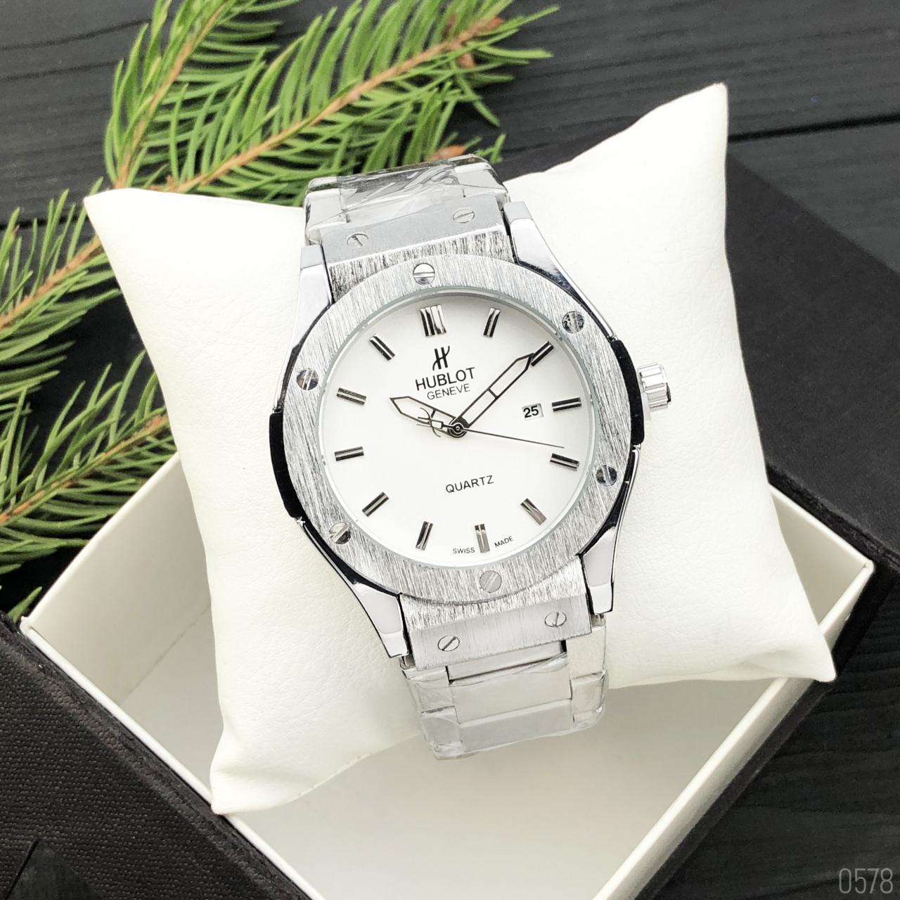 Hublot Classic Silver-White