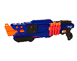 Пистолет бластер детский 80521 бластер, 60 см с мягкими патронами, фото 4