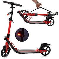 Самокат складной для взрослых и подростков iTrike 2-040-R, спорттовары для детей, двухколесный транспорт