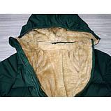 Курточка для мальчика зеленая Рост: 90 см, фото 5