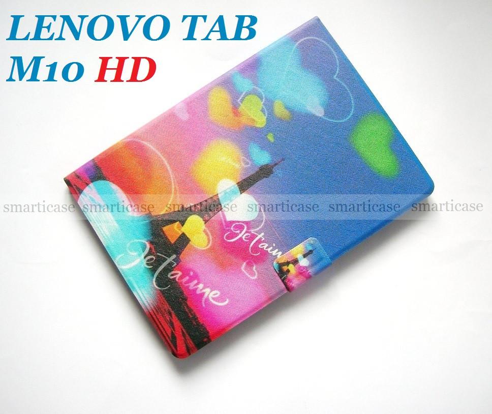Яркий цветной чехол Эйфелева Башня Color для Lenovo Tab M10 HD (tb x505l x505F x605L x605F)