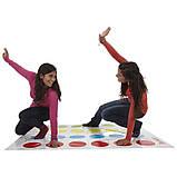 Напольная игра Твистер от Danko Toys для детей и взрослых, развлекательная подвижная игра, семейный досуг, фото 5