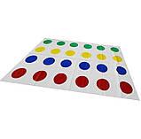 Напольная игра Твистер от Danko Toys для детей и взрослых, развлекательная подвижная игра, семейный досуг, фото 9